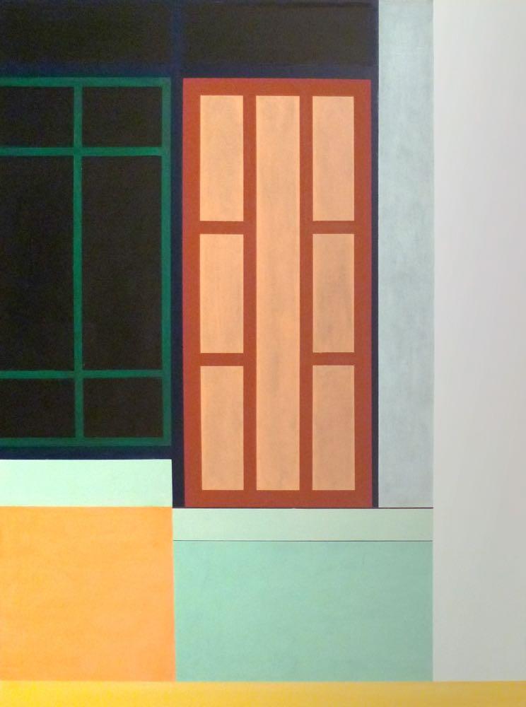 Auf Bangkorung II, 2012, 105 x 80 cm, Öl/Lw On Bangkorung II,   2012, 105 x 80 cm, Oil on canvas