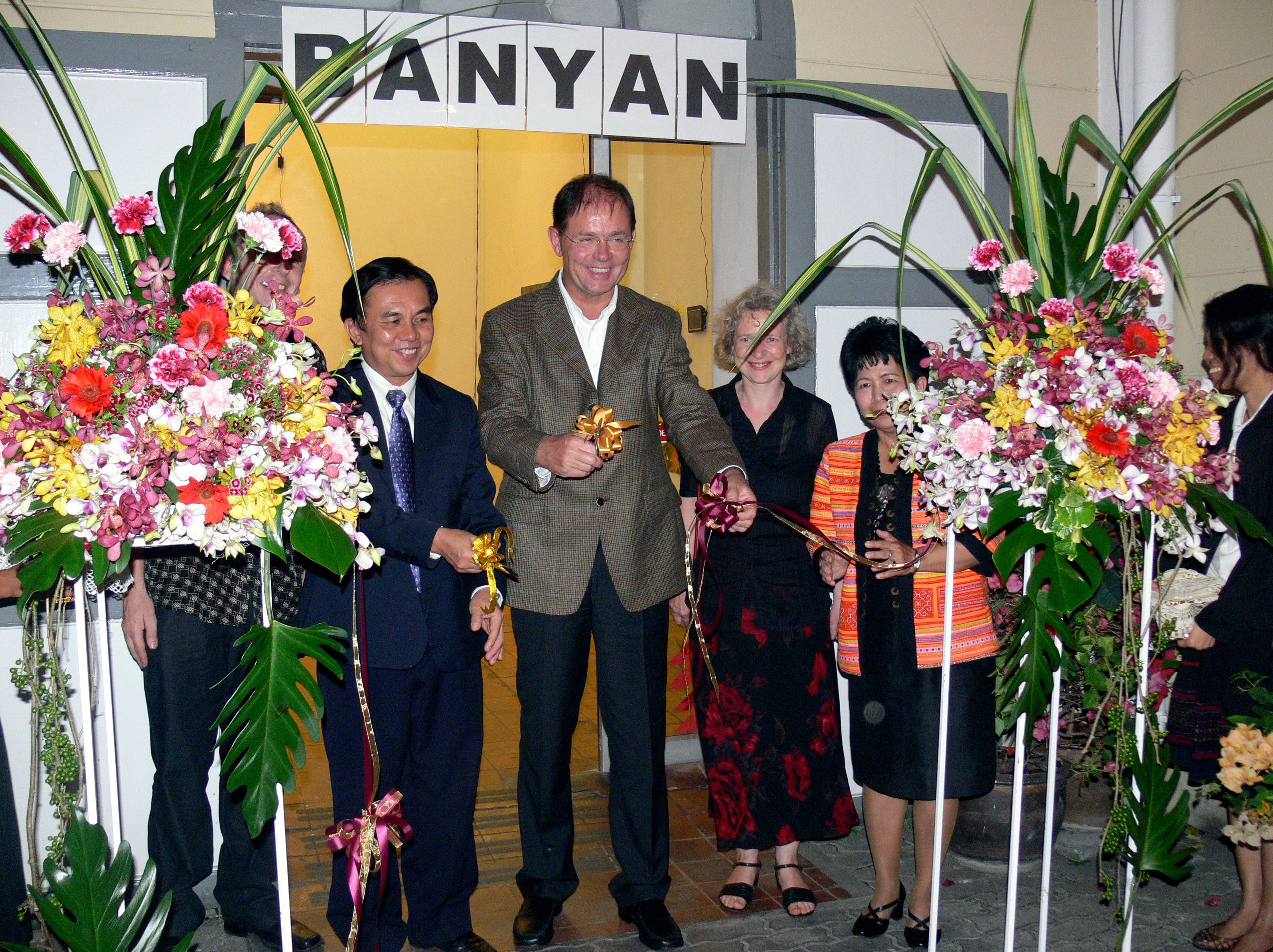 The Banyan Tree - Vernissage/opening National Gallery Bangkok 2009