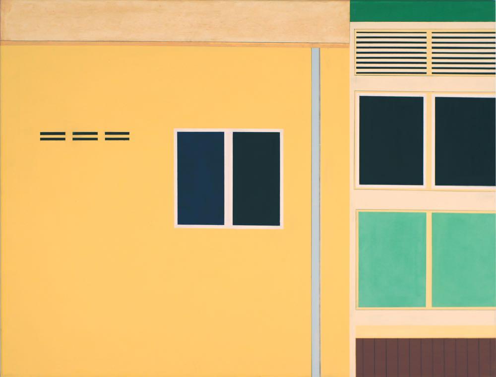 Georgetown/Penang IV, 2013, 80 x 105 cm, Öl/Lw, Oil on canvas