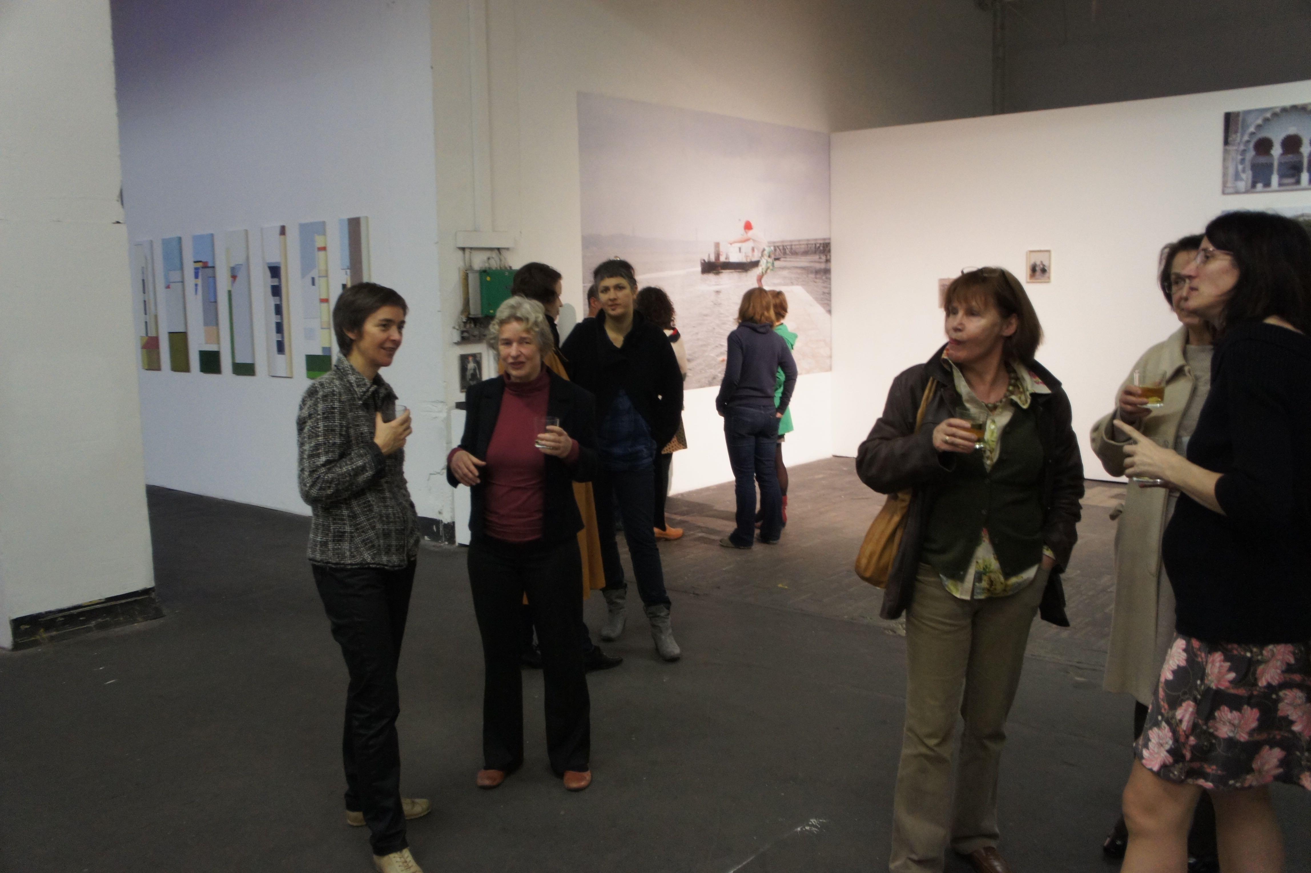 Ausstellung / exhibition Landschaft 2D, Zentrifuge Nürnberg 2011