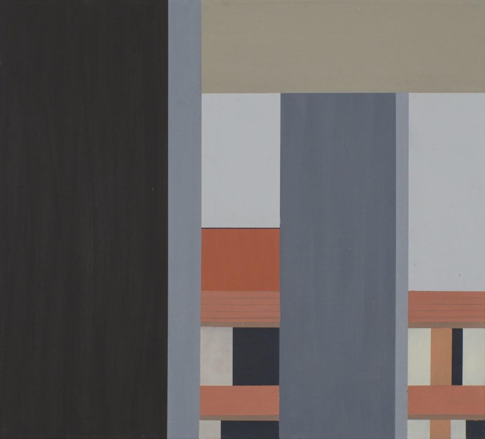 Guangzhou Gafa IV, 2014, 45 x 50 cm, Oil on canvas