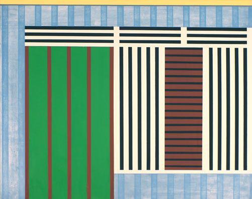 Haus II (Indonesien), 2012, 100 x 80 cm, Öl/Lw House II (Indonesien), 2012, 100 x 80 cm, Oil on canvas
