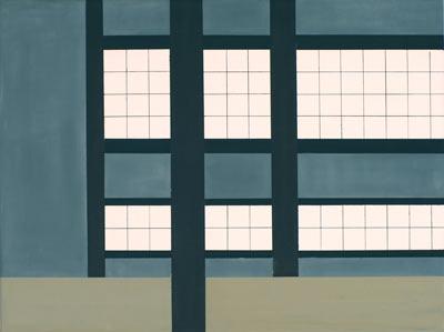 In Japan, 2013, 50 x 60 cm, Öl/Lw,  Oil on canvas