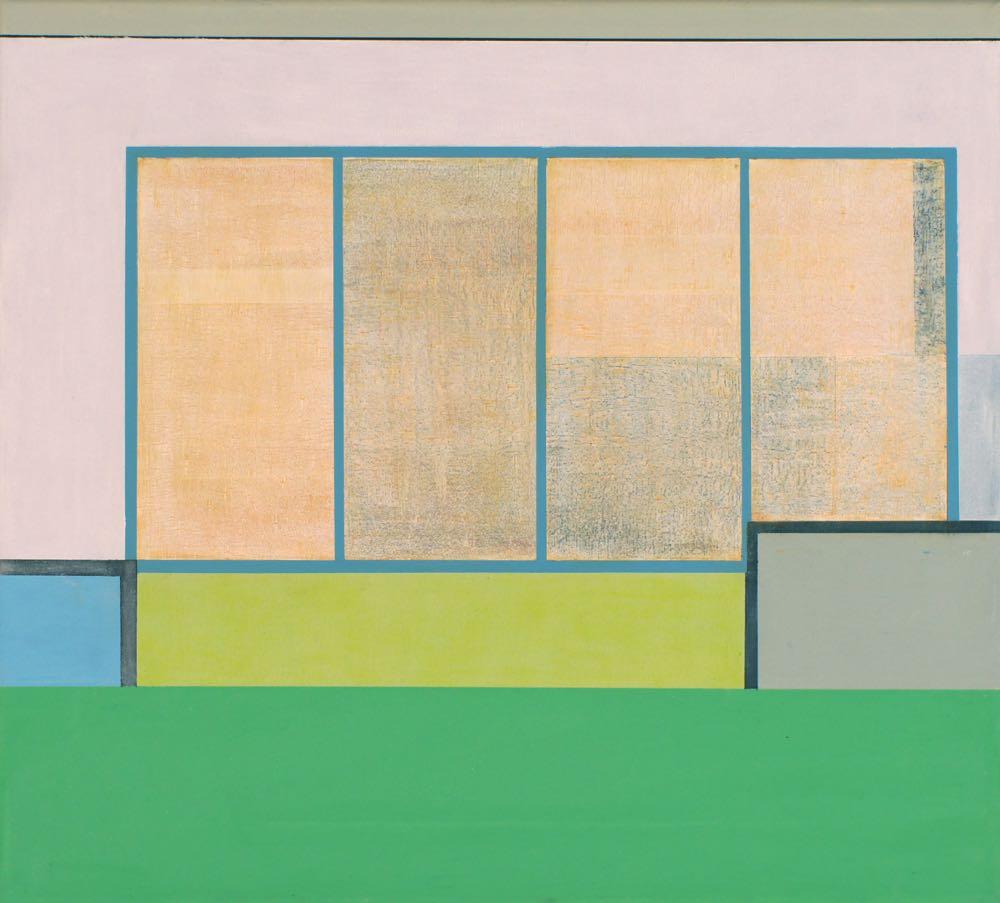 Papeete I, 2013, 45 x 50 cm, Öl/Lw, Oil on canvas