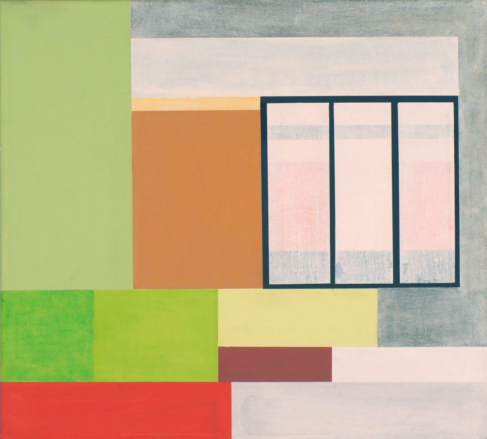 Papeete II, 2013, 45 x 50 cm, Öl/Lw, Oil on canvas