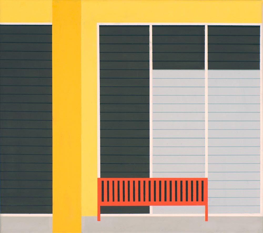 Rarotonga, 2013, 45 x 50 cm, Öl/Lw,  Oil on canvas