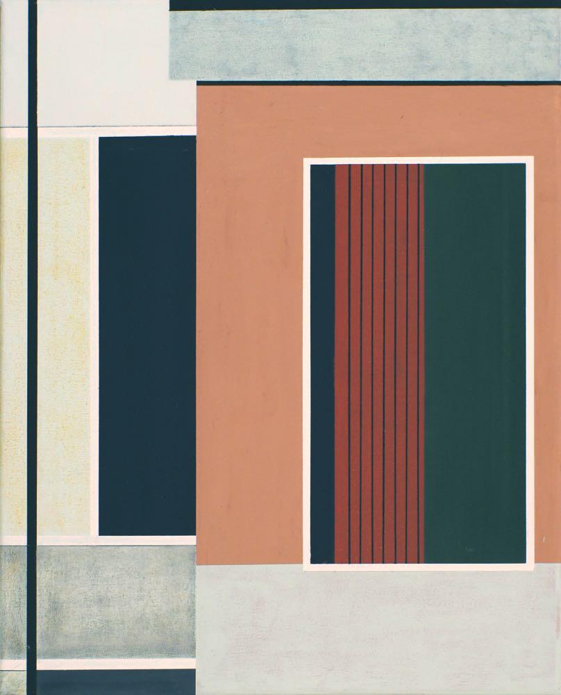 Venedig II, 2013, 50 x 40 cm, Öl/Lw,  Oil on canvas