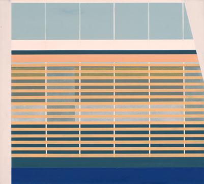 Yokohama, 2013, 45 x 50 cm, Öl/Lw, Oil on canvas
