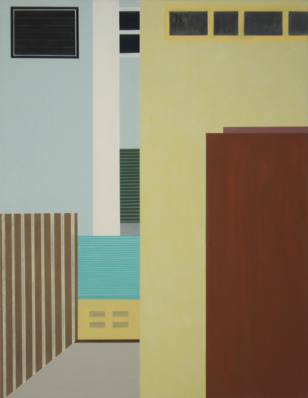 In Bangkok II, 2011, 105 x 80 cm, Ölfarbe auf Leinwand In Bangkok II, 2011, 105 x 80 cm, Oil on canvas
