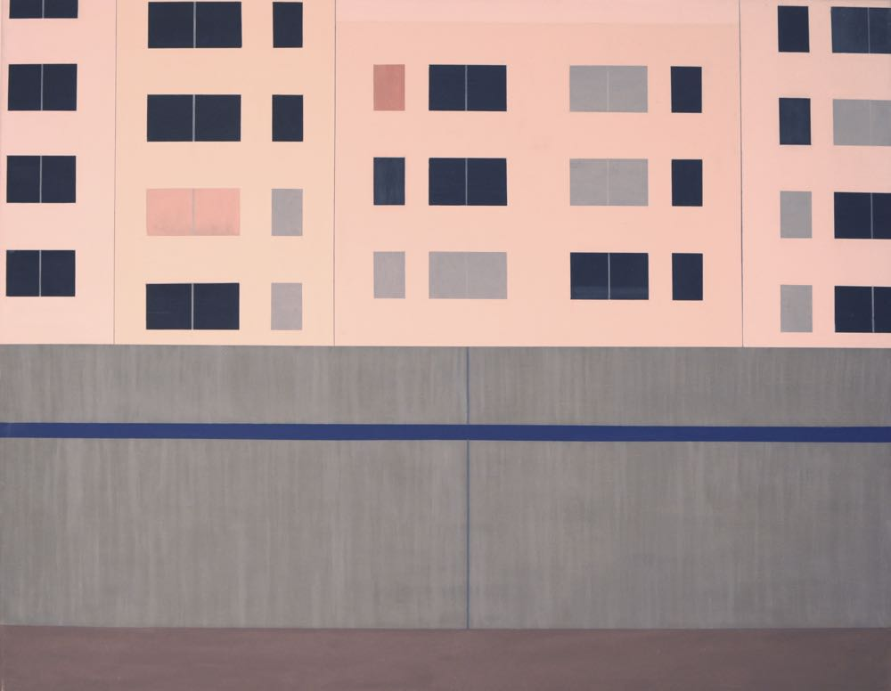 Marzahn 2, 2011, 90 x 115 cm, Öl/Lw, Oil on canvas