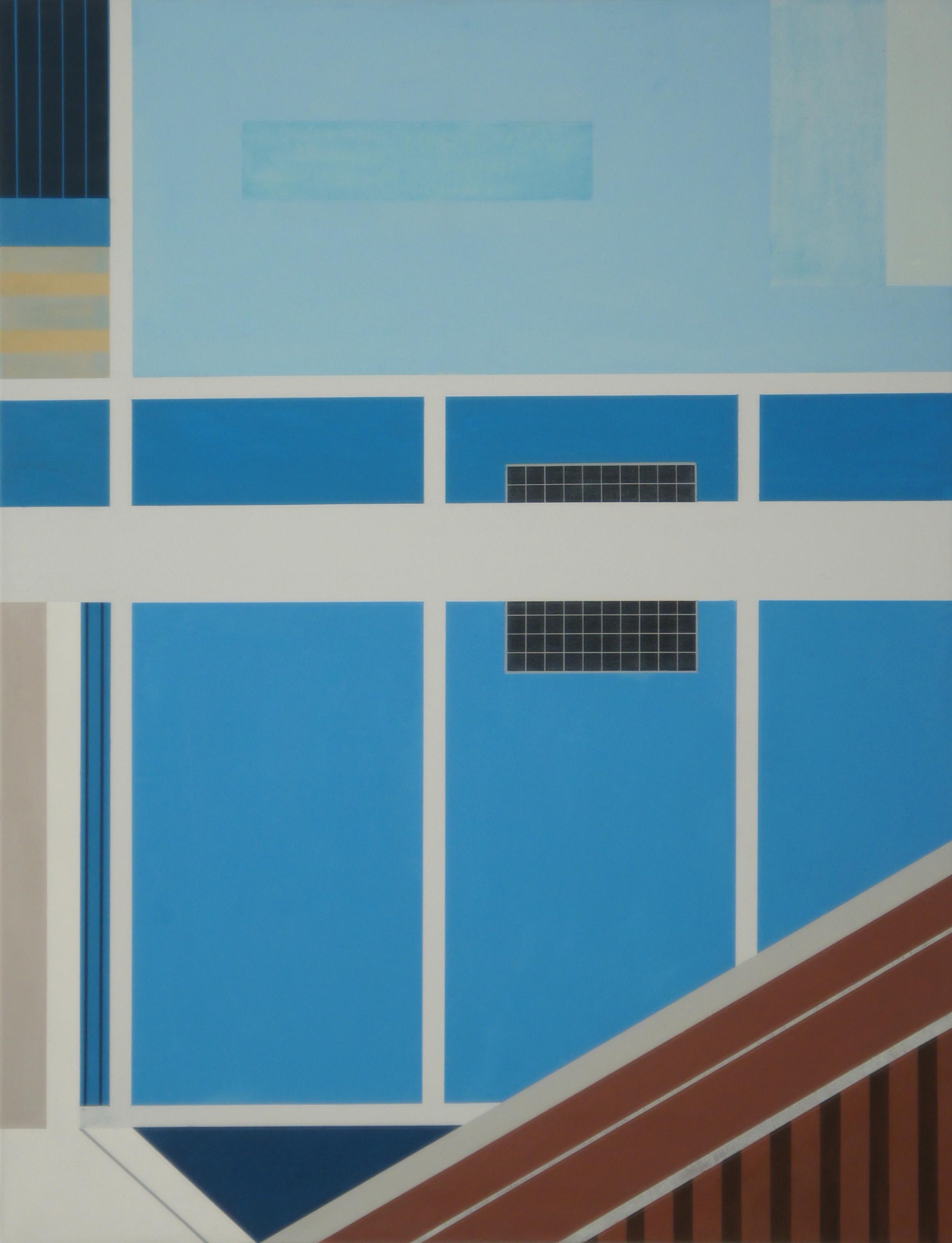 In Ratchaburi IV, 2011, 105 x 80 cm, Ölfarbe auf Leinwand In Ratchaburi IV, 2011, 105 x 80 cm, Oil on canvas