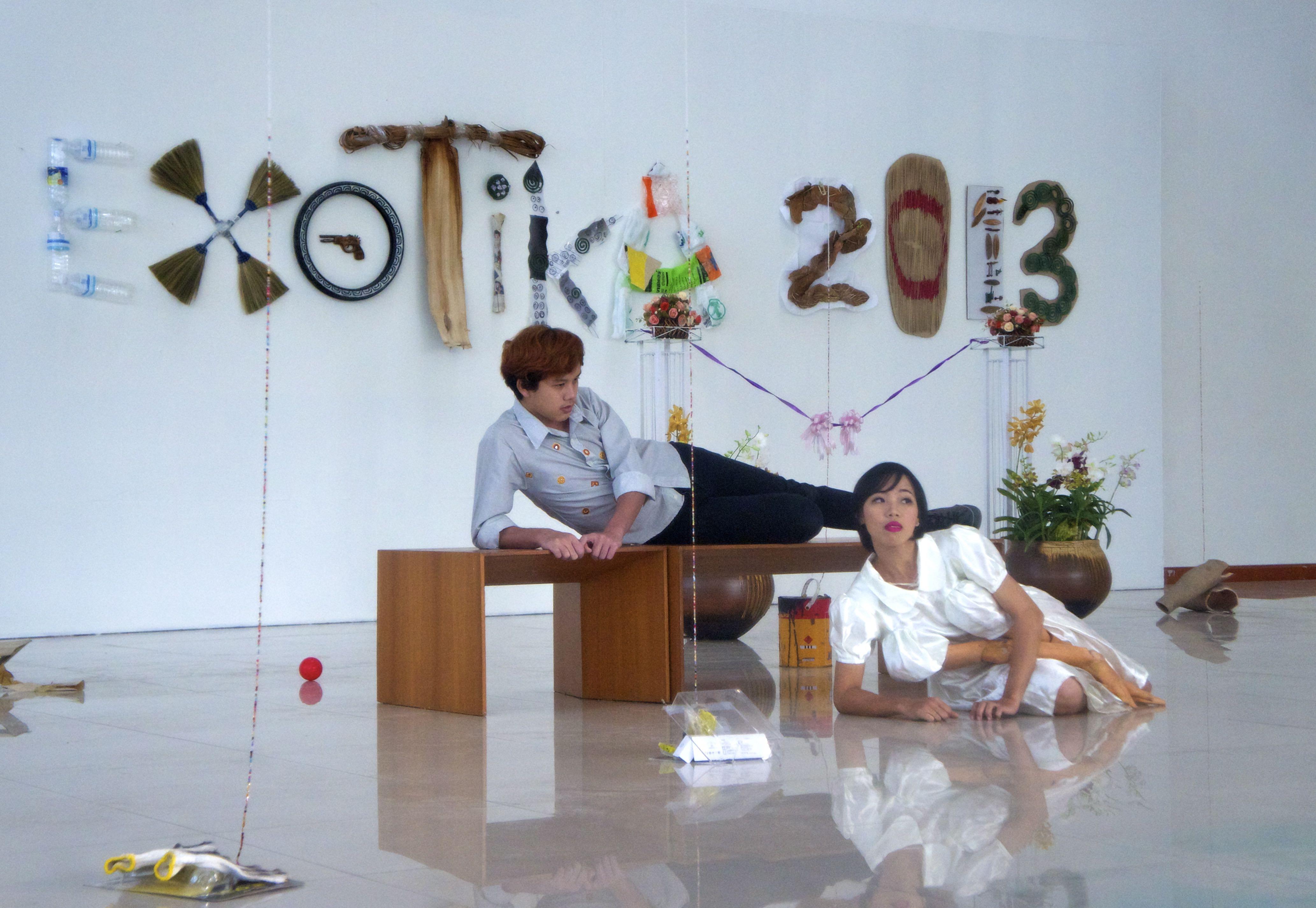 Exotika 2013- Performance Opening event,Silapakorn Art Lab Bangkok, Thailand