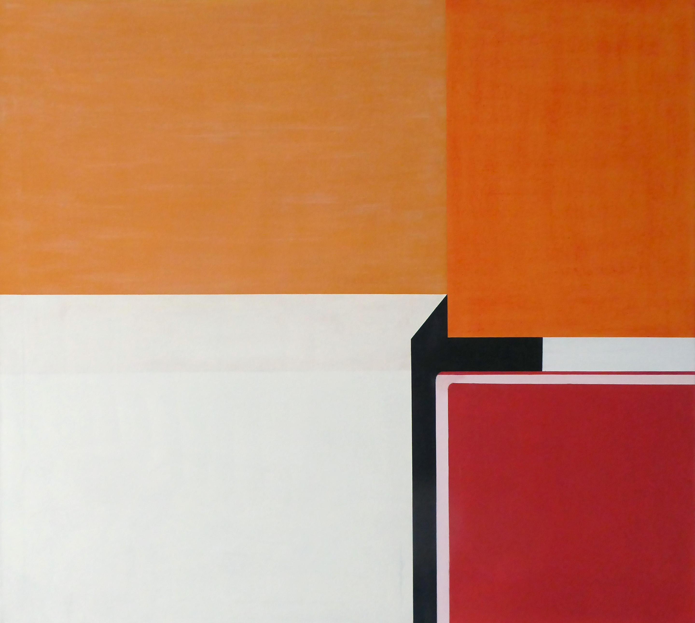 ChinaXI, 2017, 90 x 100 cm, ÖlLw