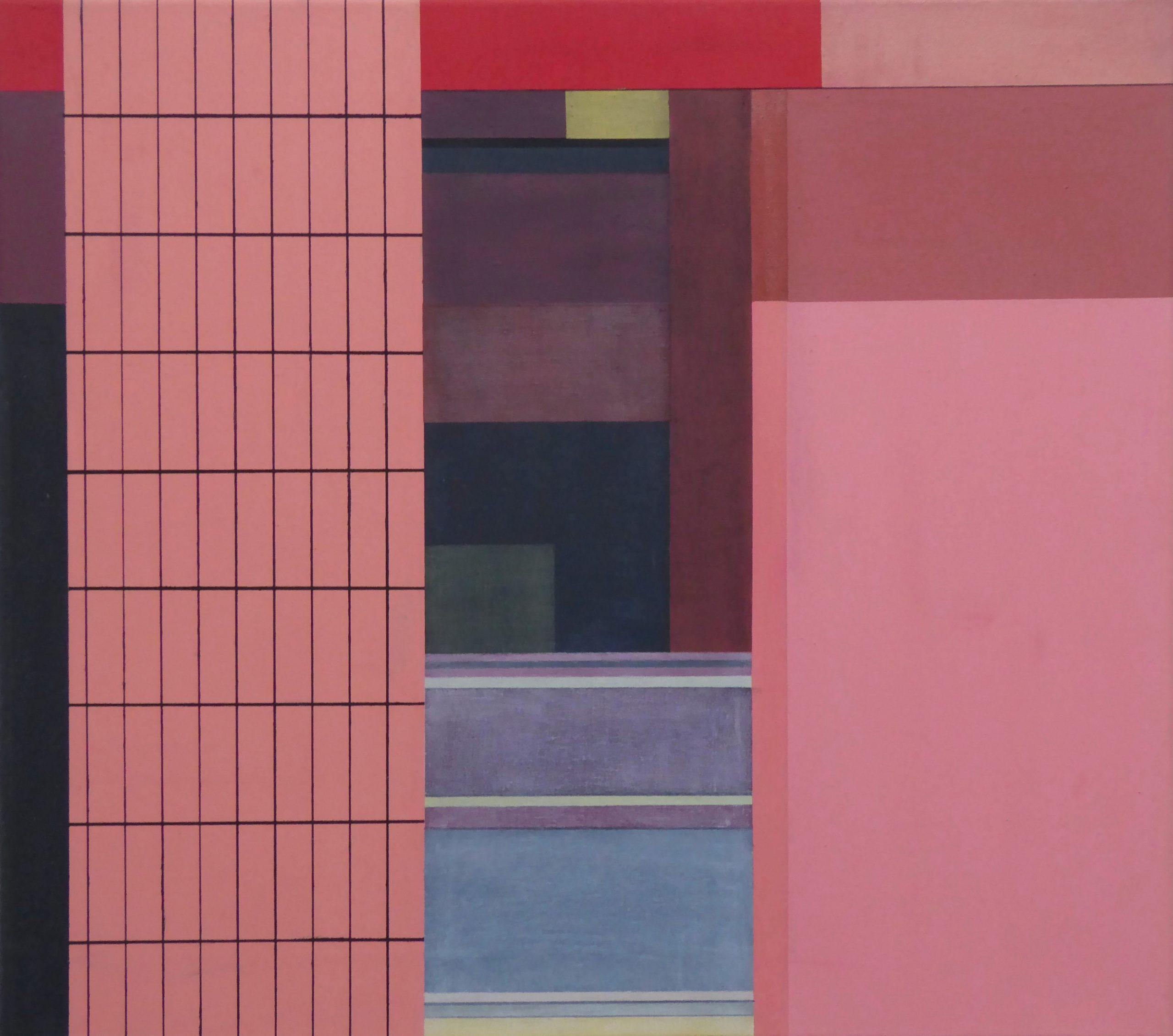 Dumaguete III, 2018, 45 x 50 cm, Öl/Lw; Oil on Canvas