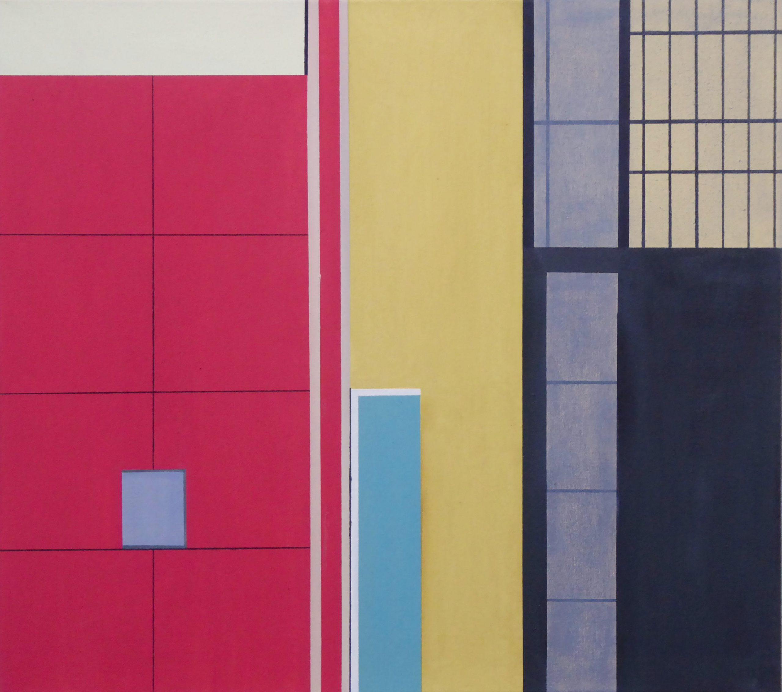 Dumaguete VII,  2018, 45 x 50 cm, Öl/Lw, Oil on Canvas