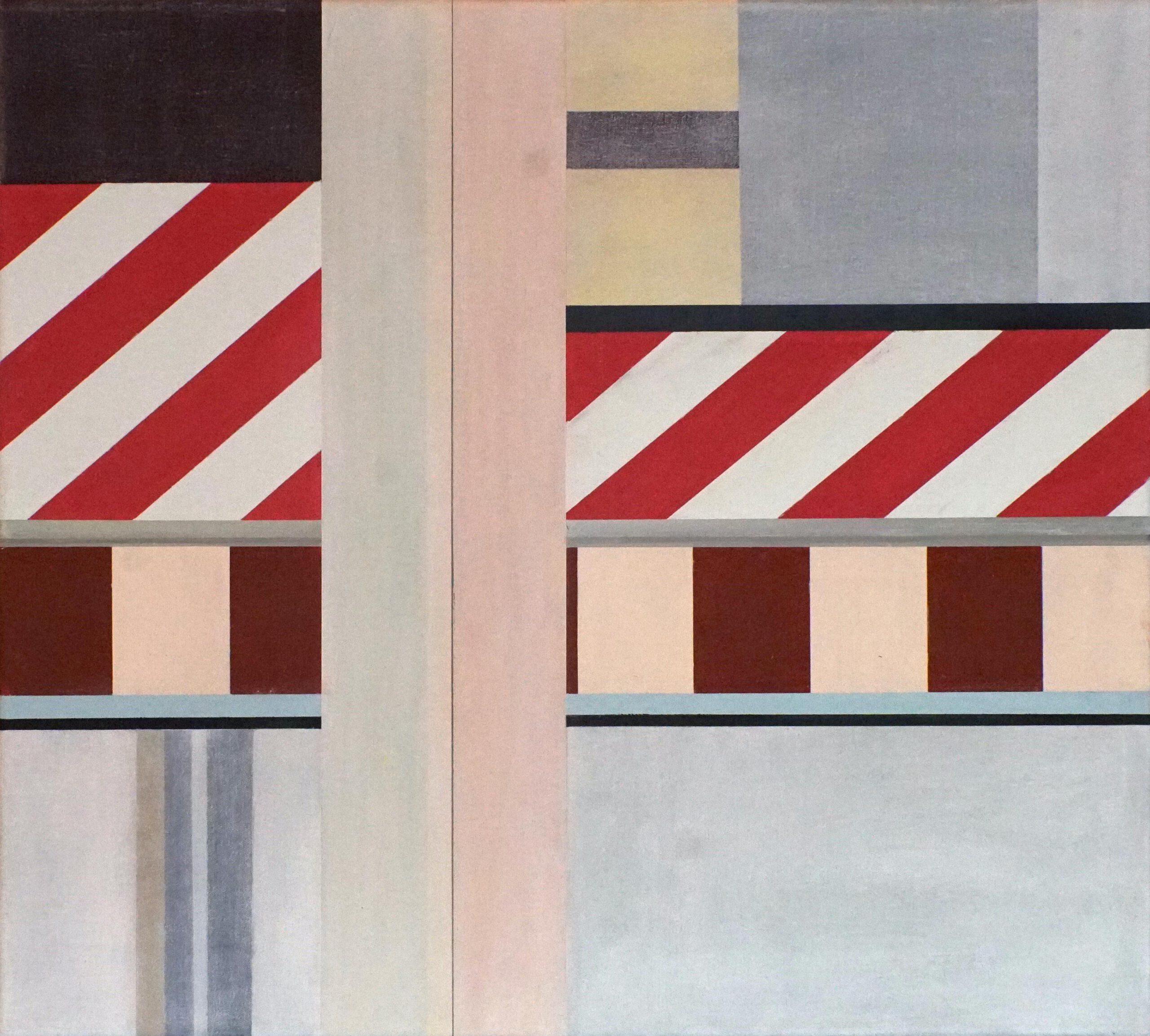 Chinatown VII, 2020, 45 x 50 cm, Öl/Lw, Oil on Canvas