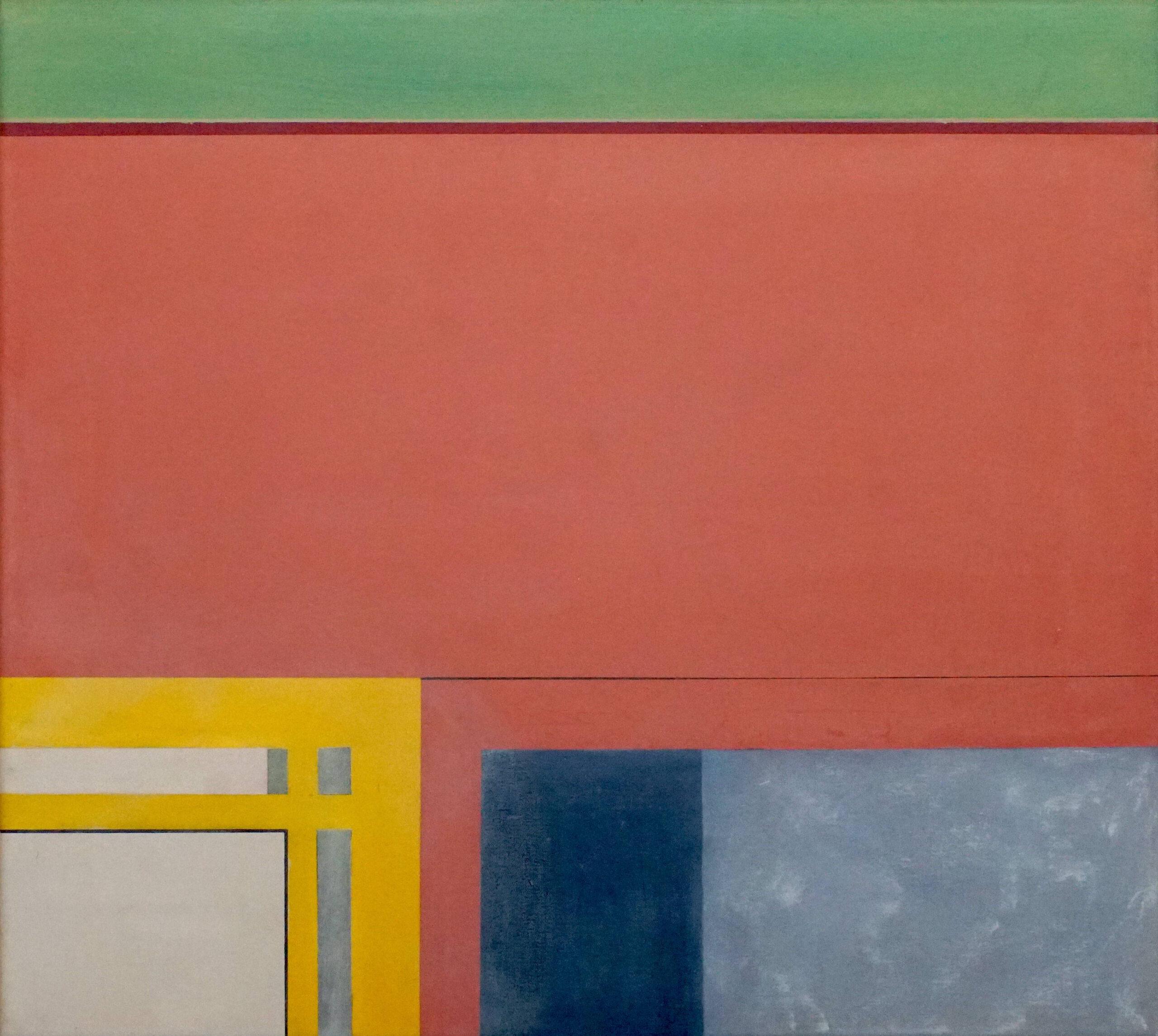 Dumaguete I,  2018, 45 x 50 cm, Öl/Lw, Oil on Canvas