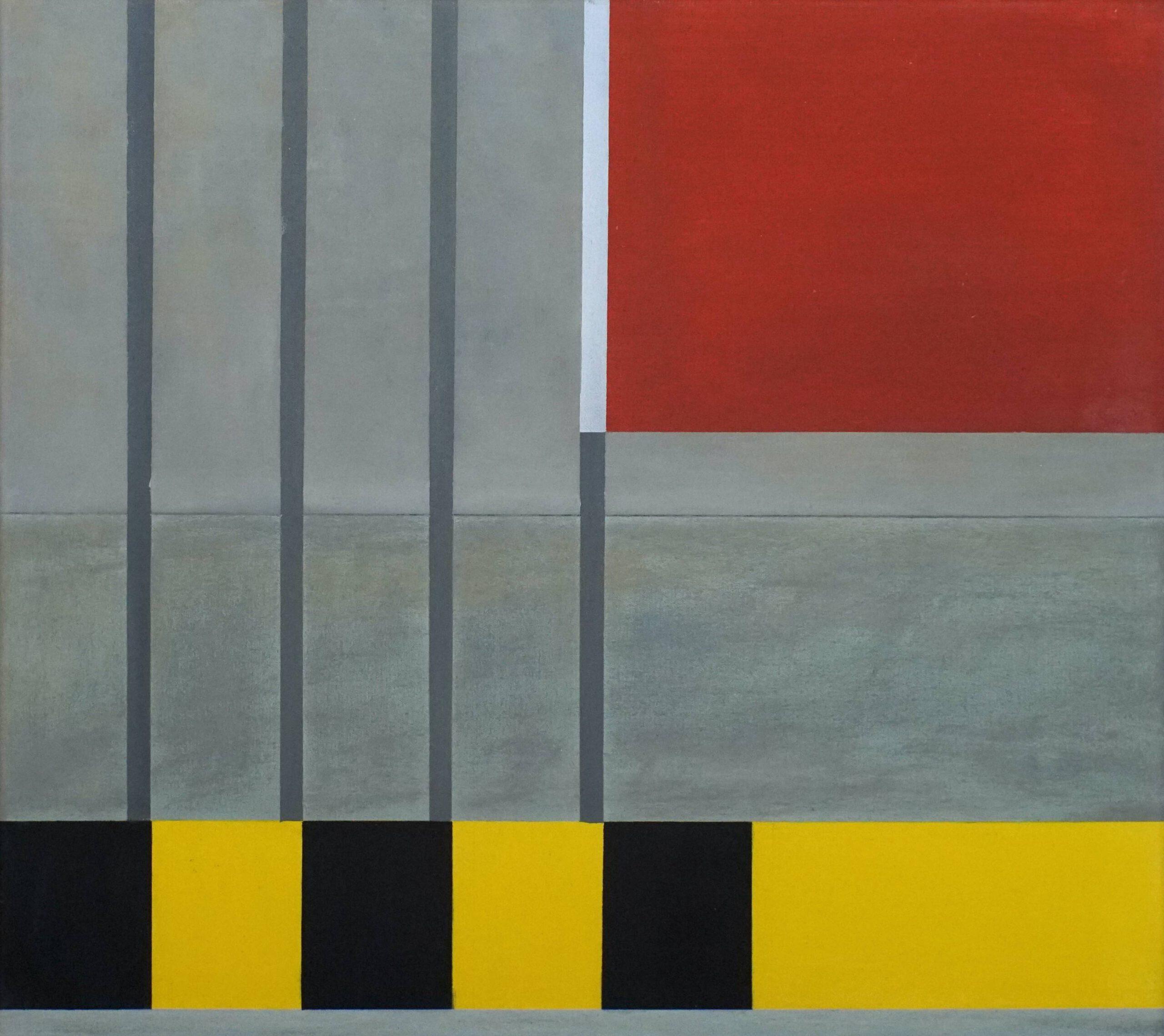 Dumaguete II,  2018, 45 x 50 cm, Öl/Lw, Oil on Canvas