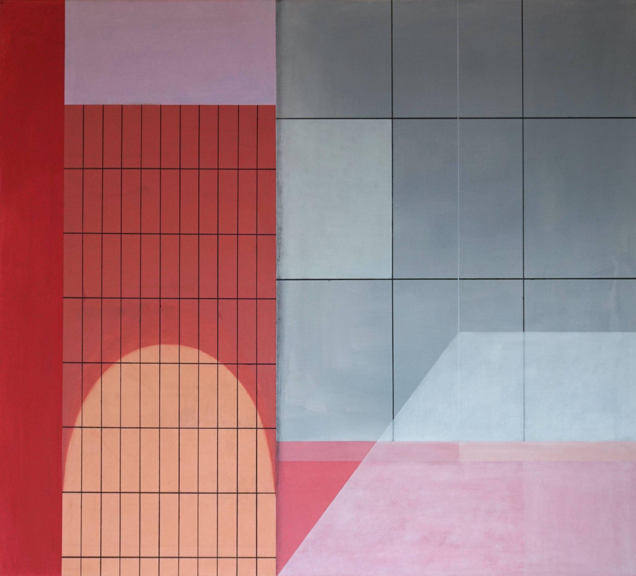 Dumaguete IV,  2018, 45 x 50 cm, Öl/Lw, Oil on Canvas
