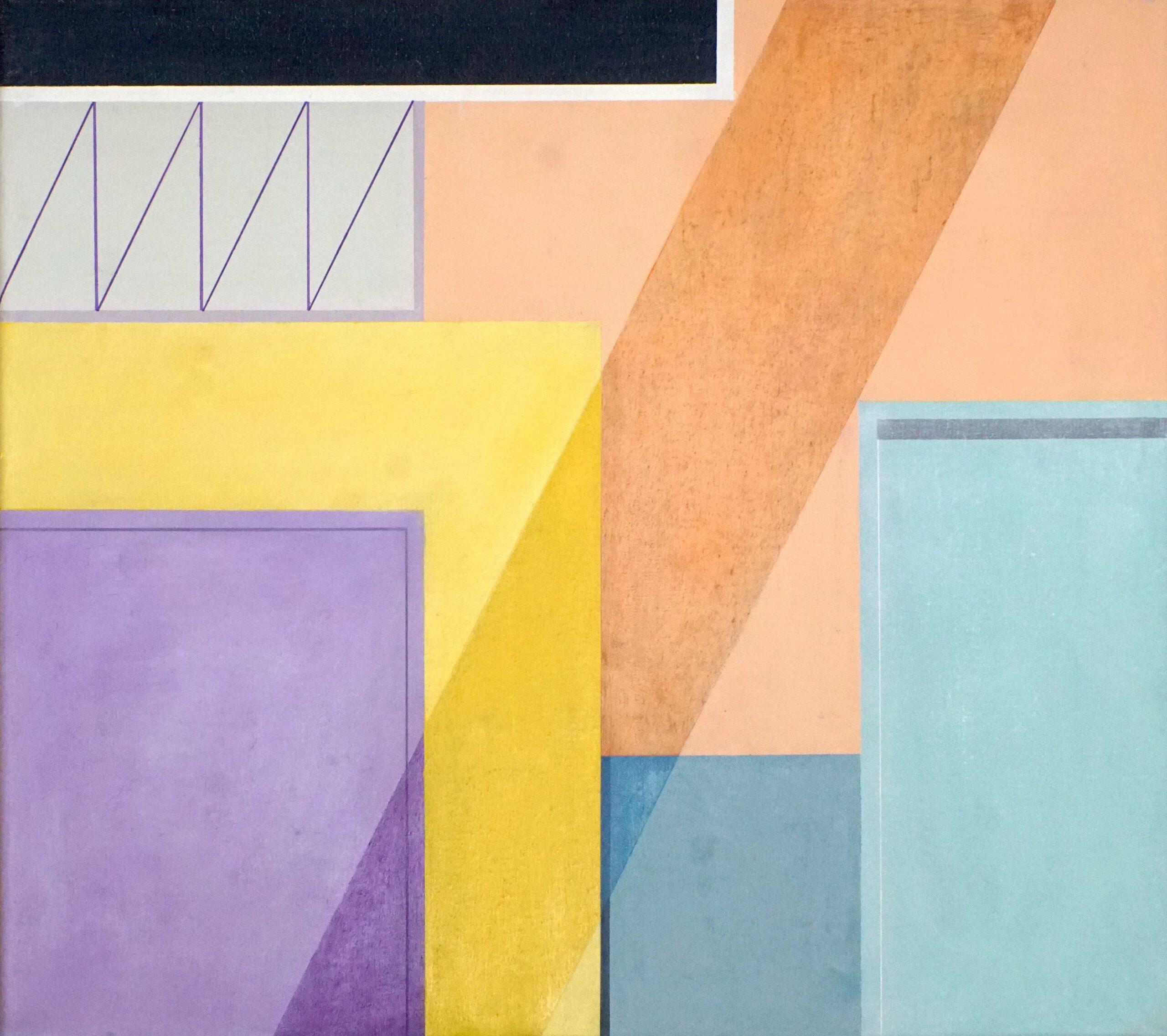 Guelmim II,  2020, 45 x 50 cm, Öl/Lw, Oil on Canvas