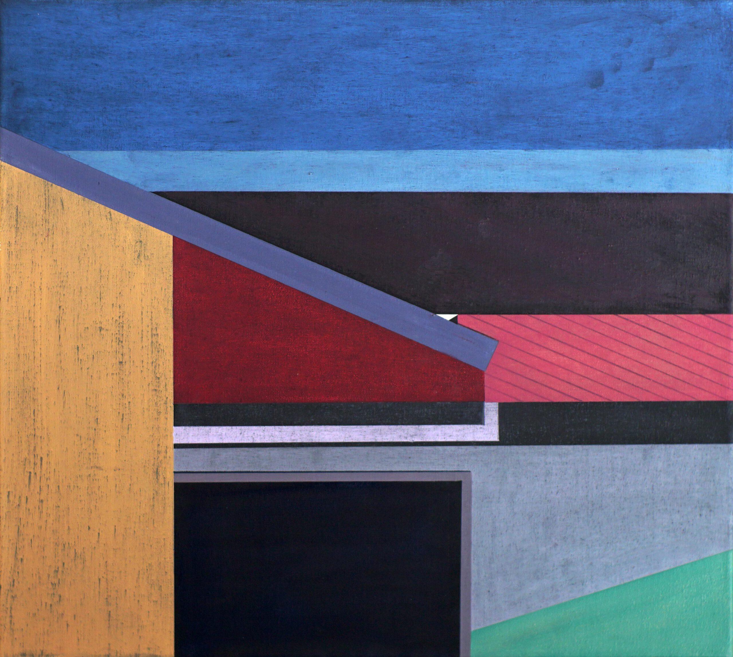 Manila I, 2020, 45 x 50 cm, Öl/Lw, Oil on Canvas