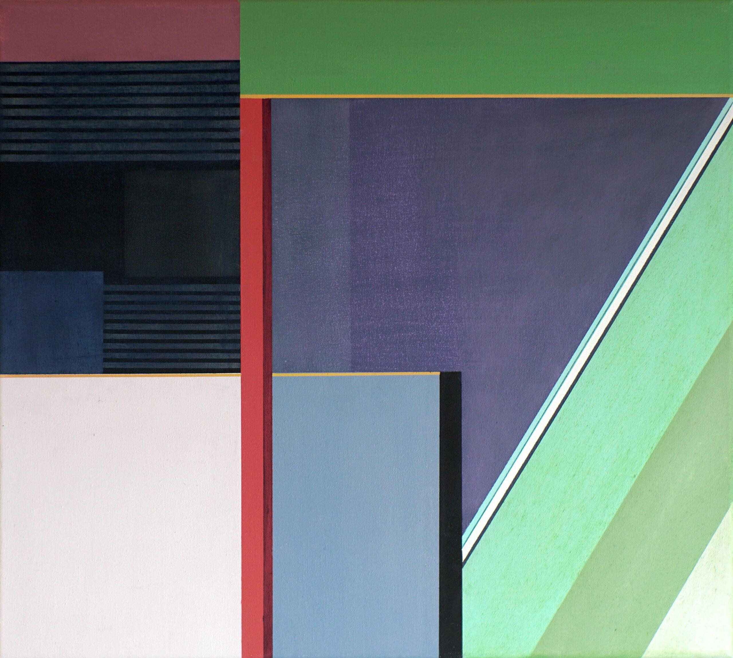 Manila II, 2020, 45 x 50 cm, Öl/Lw, Oil on Canvas