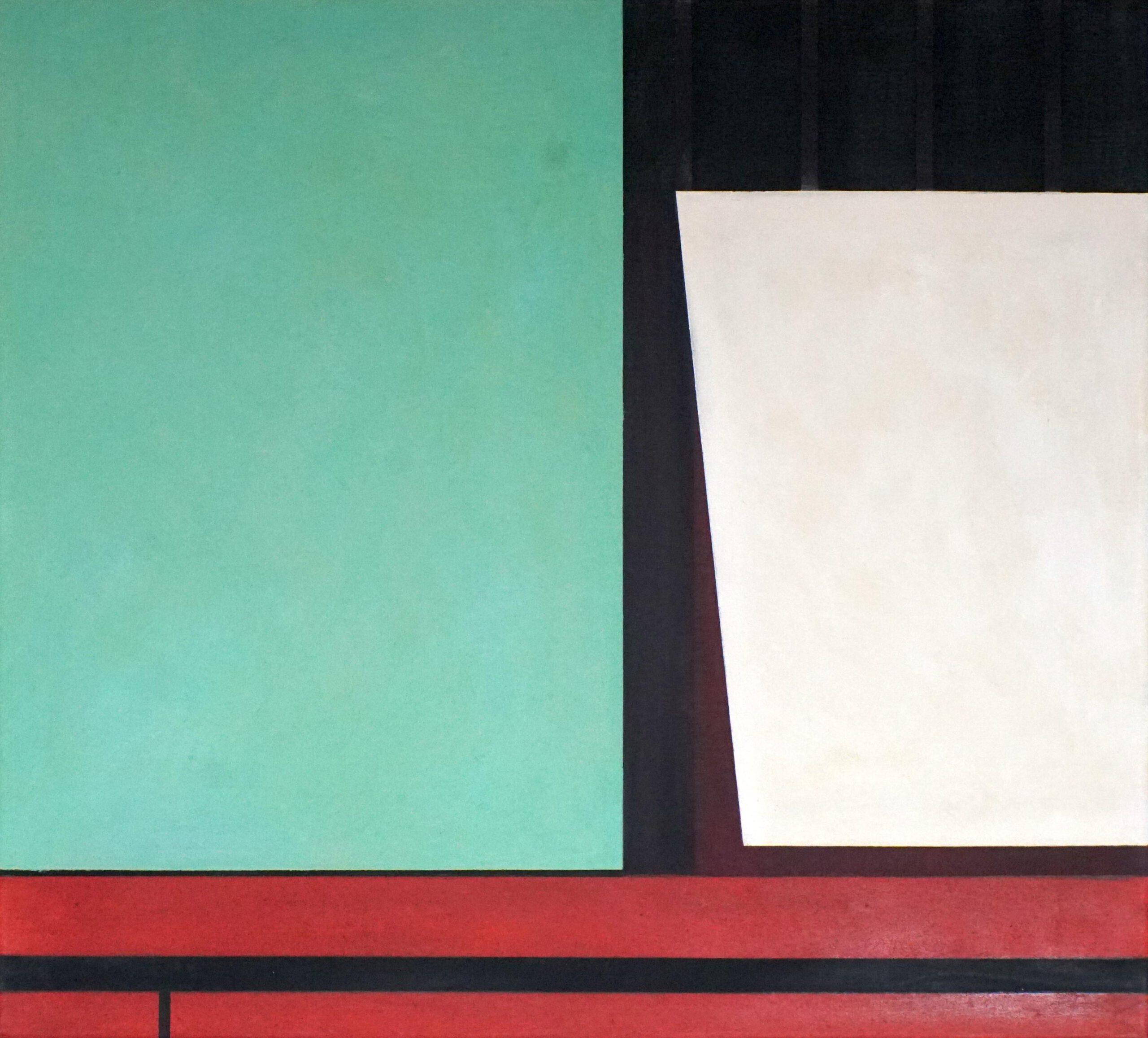 Manila III, 2020, 45 x 50 cm, Öl/Lw, Oil on Canvas