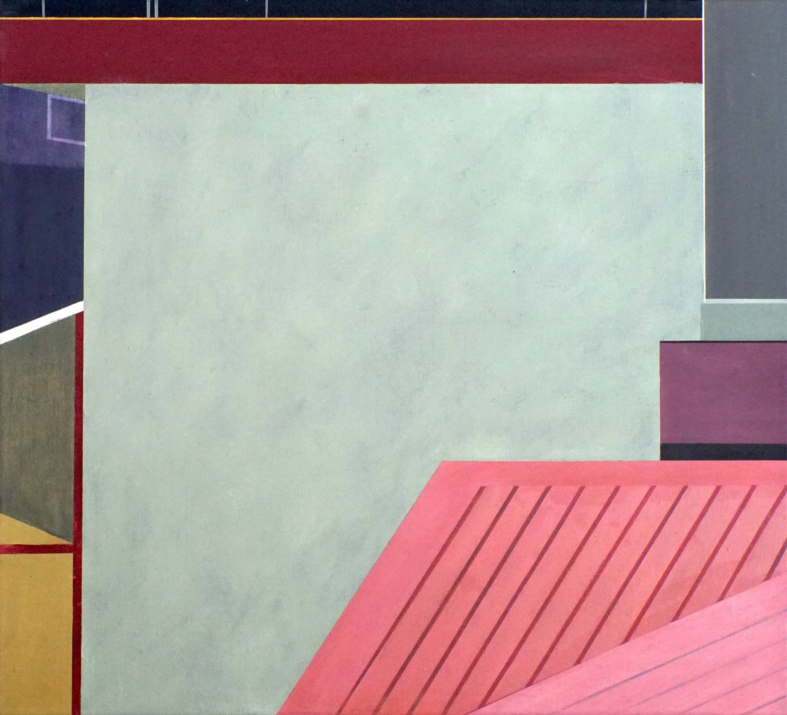 Manila IV, 2020, 45 x 50 cm, Öl/Lw, Oil on Canvas