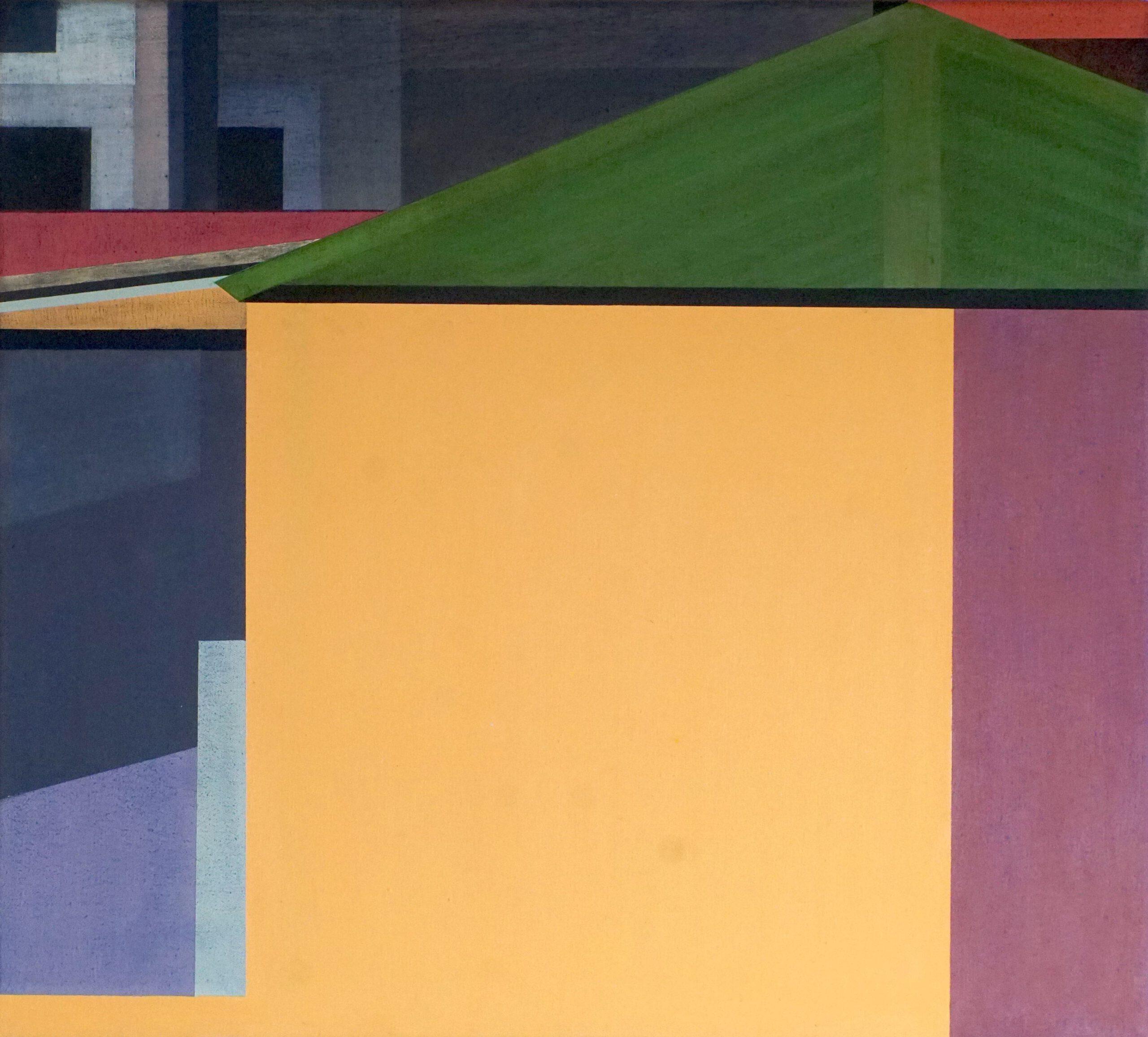 Manila V, 2020, 45 x 50 cm, Öl/Lw, Oil on Canvas