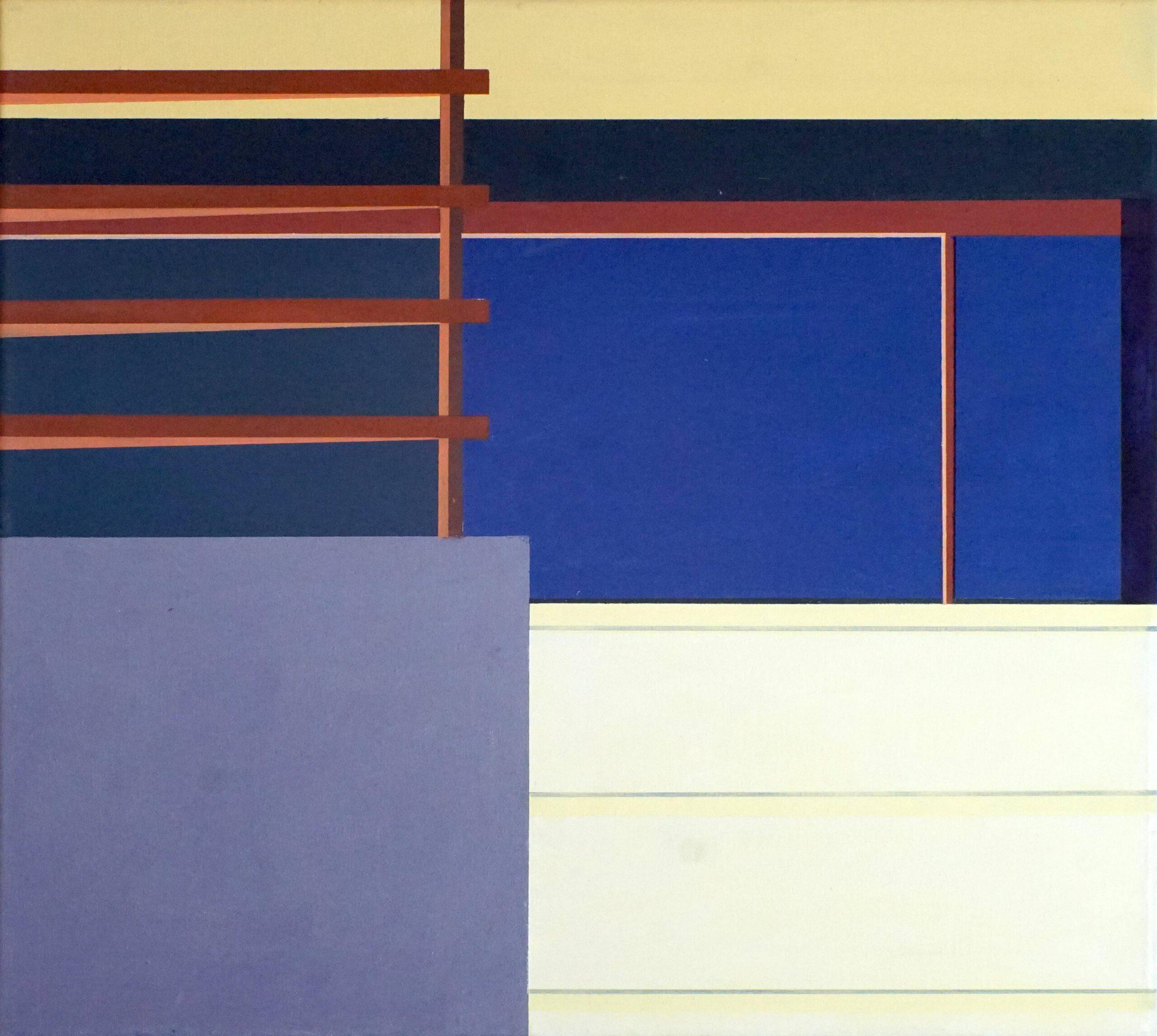 Manila VI, 2020, 45 x 50 cm, Öl/Lw, Oil on Canvas