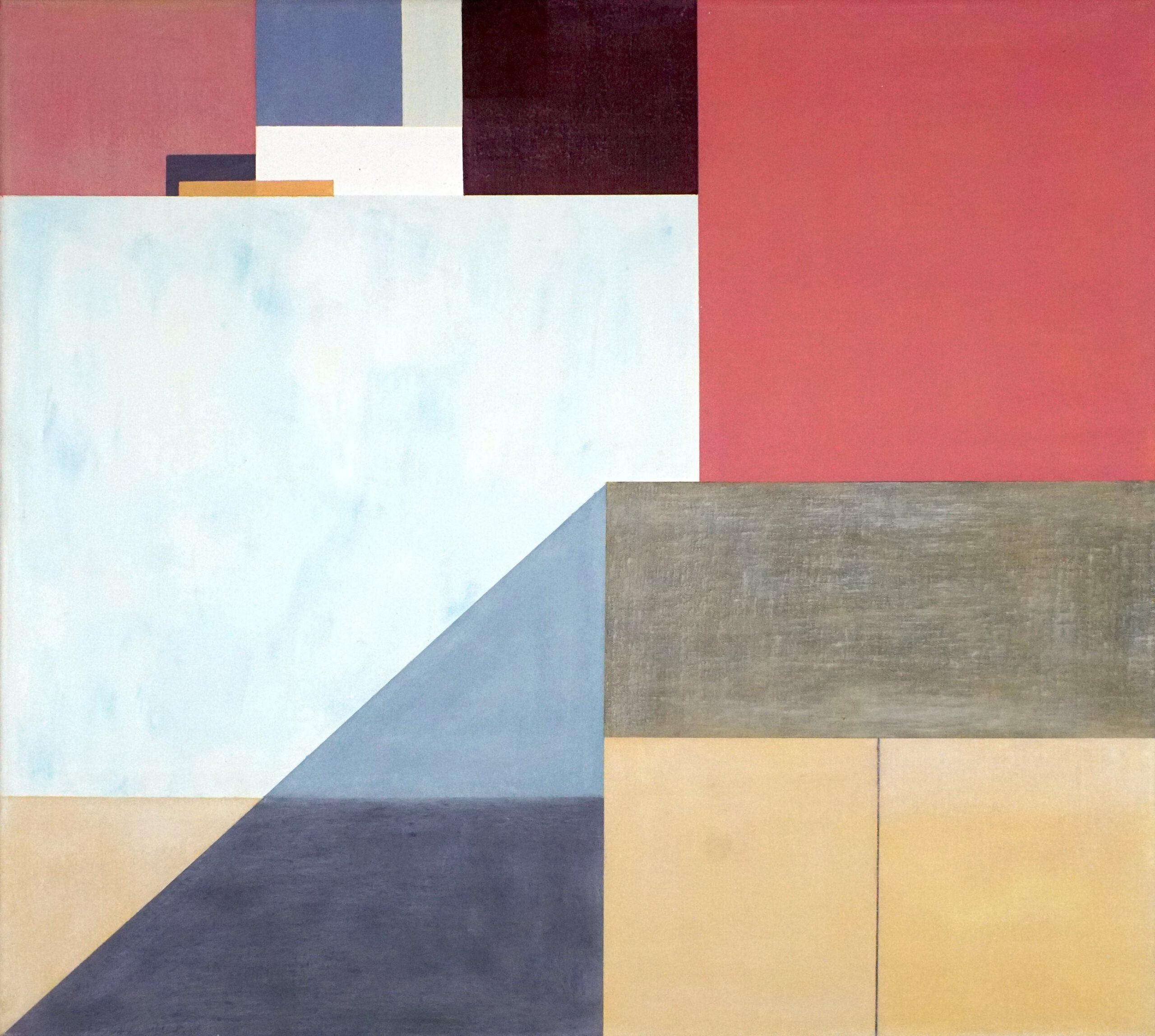 Sidi Ifni I,  2018, 45 x 50 cm, Öl/Lw, Oil on Canvas