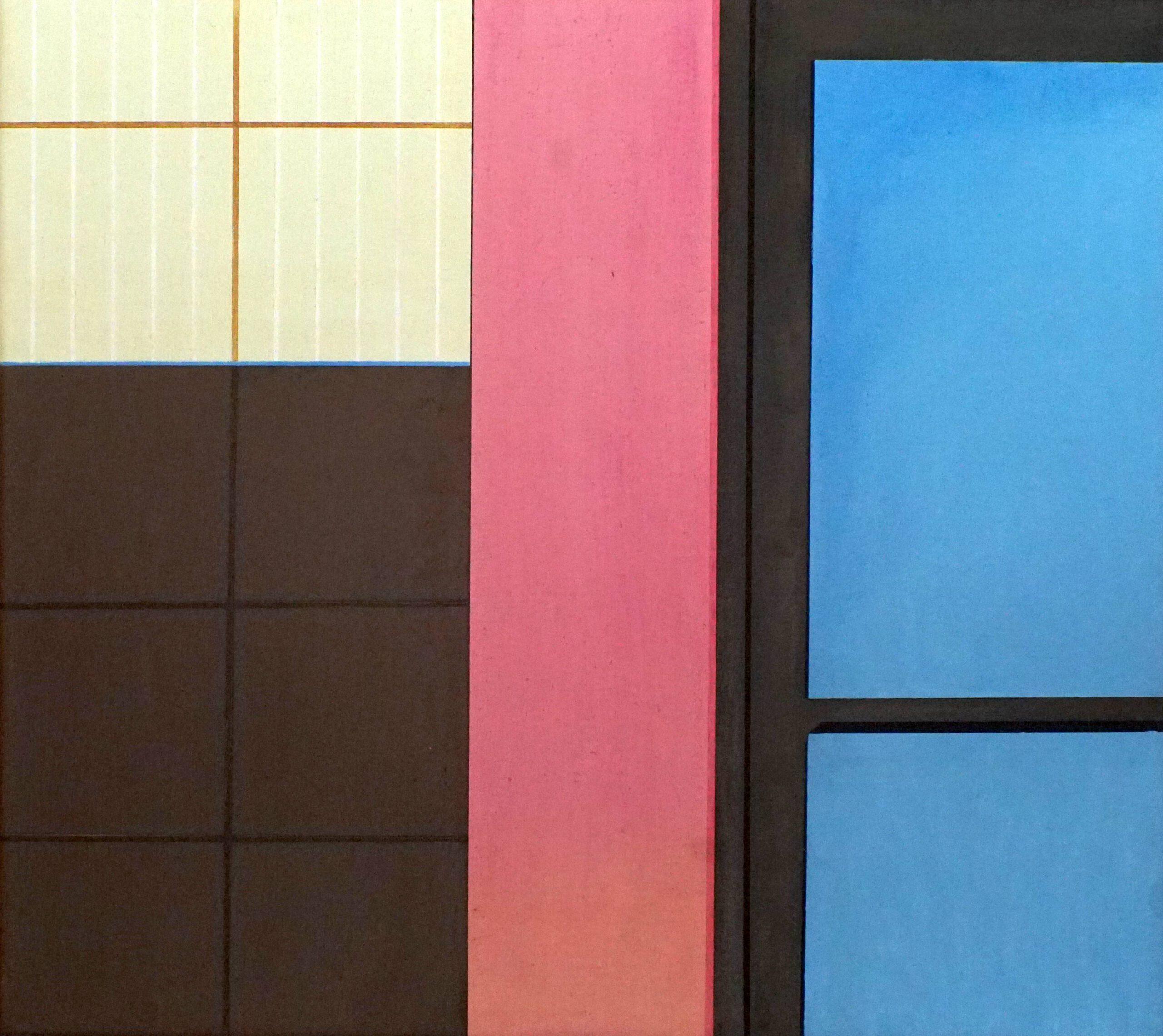 Sidi Ifni III,  2020, 45 x 50 cm, Öl/Lw, Oil on Canvas