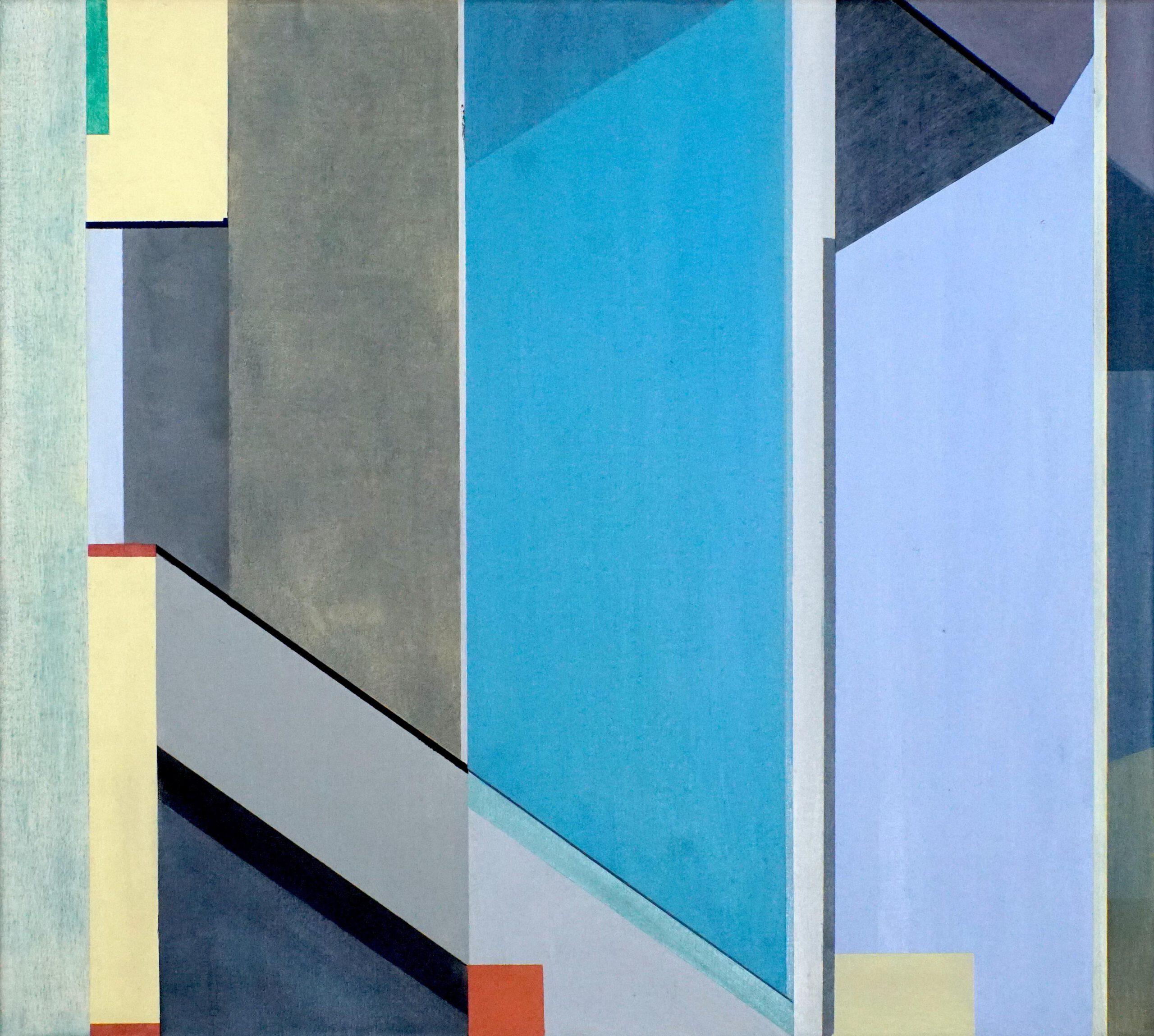 Sukhumvit II,  2020, 45 x 50 cm, Öl/Lw, Oil on Canvas
