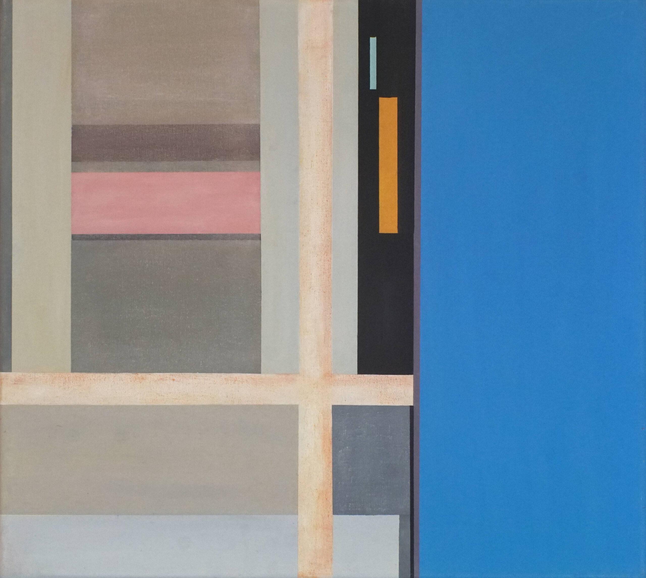 Tagbilaran I, 2018, 45 x 50 cm, Öl/Lw, Oil on Canvas