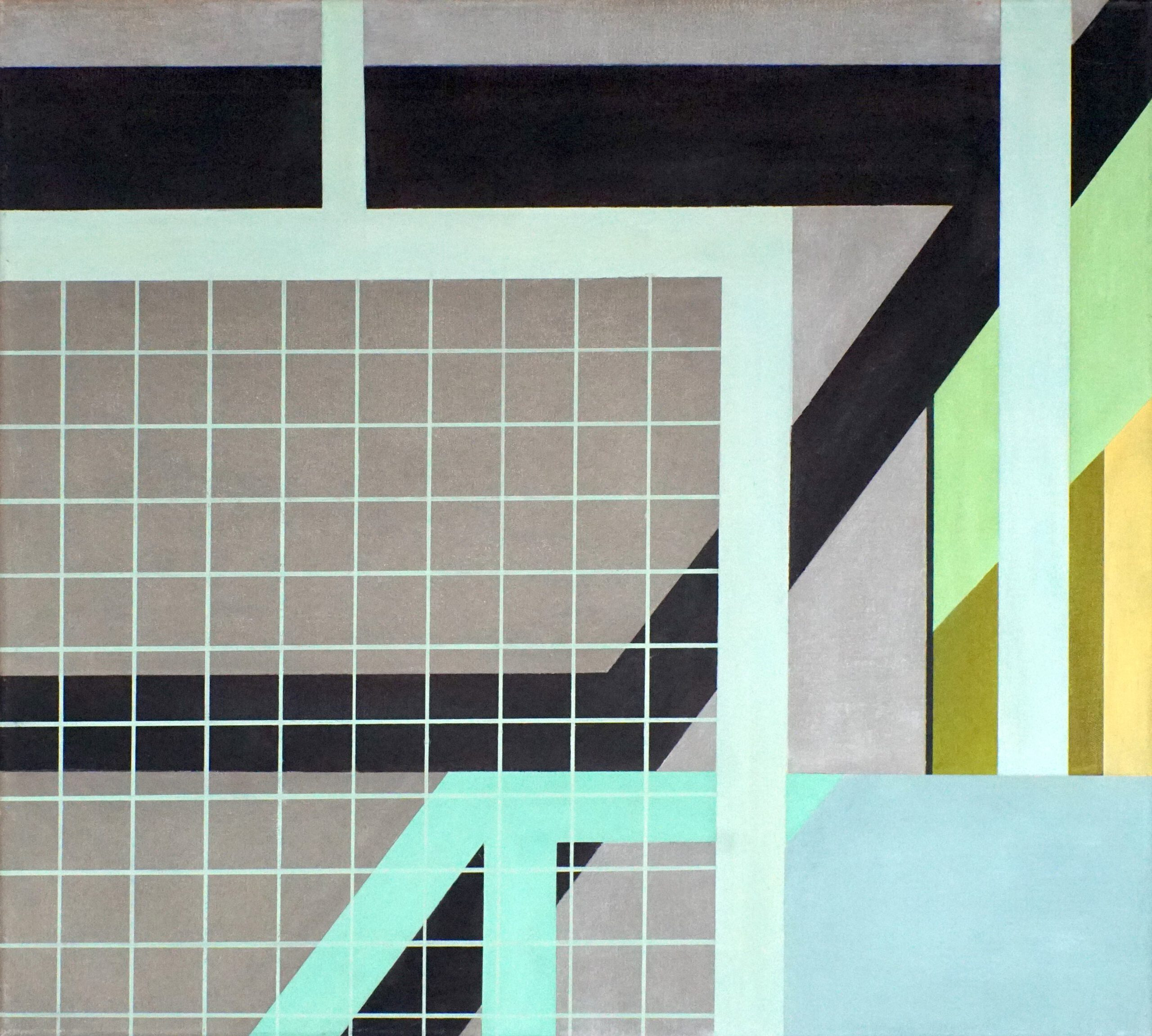 Tagbilaran II, 2018, 45 x 50 cm, Öl/Lw, Oil on Canvas