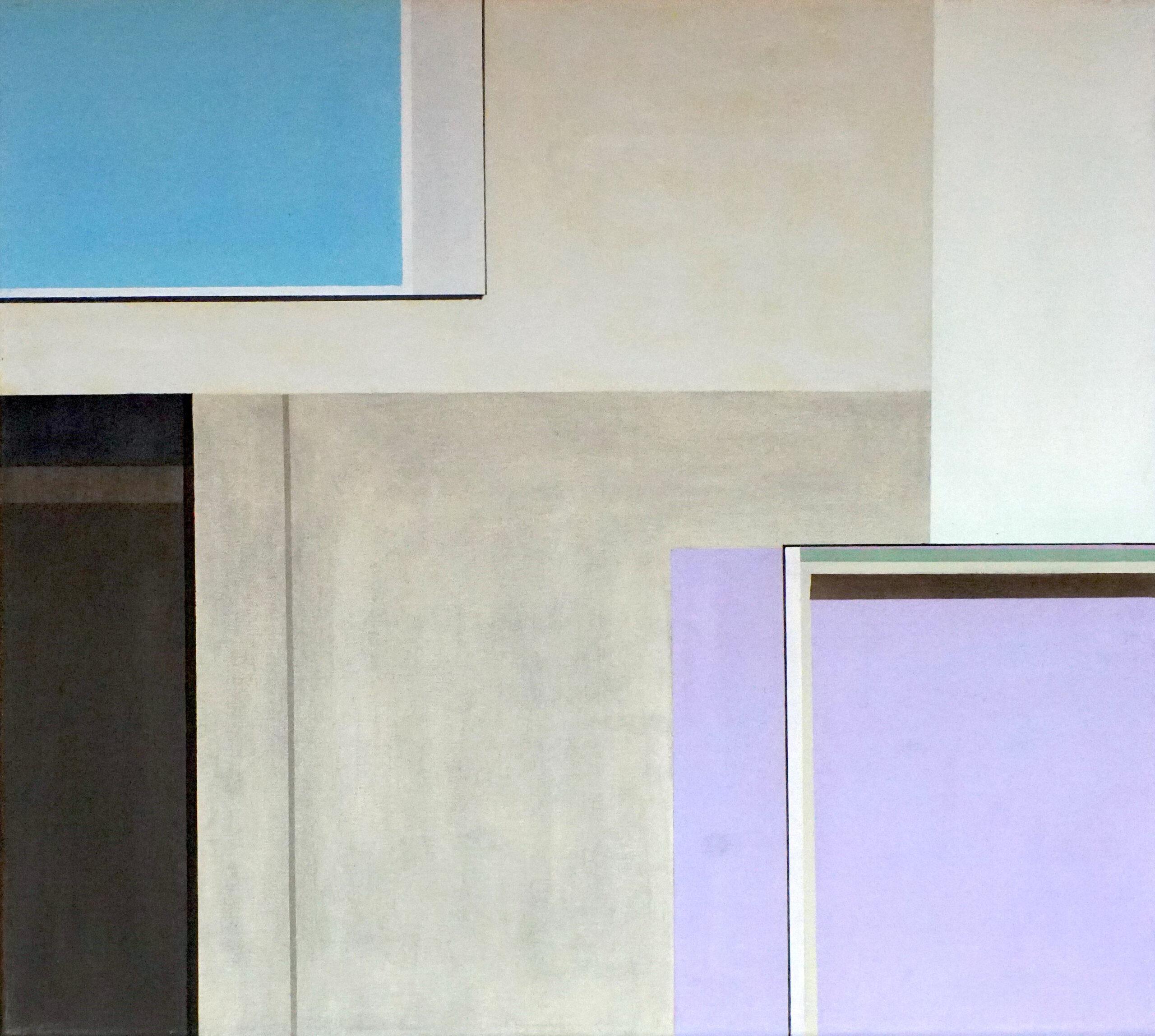 Tagbilaran III, 2018, 45 x 50 cm, Öl/Lw, Oil on Canvas