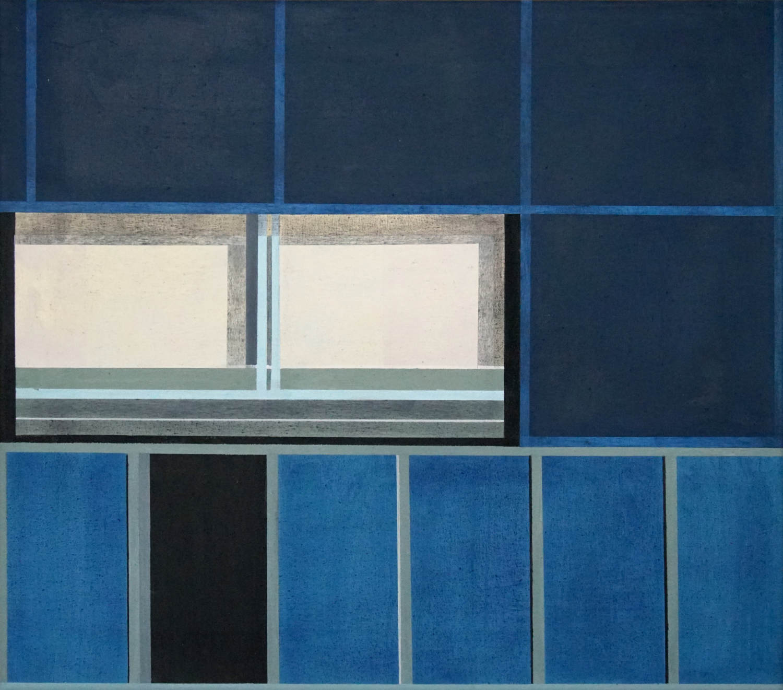 Alexanderplatz 3, 2021, 45 x 50 cm, Öl/Lw, Oil on Canvas