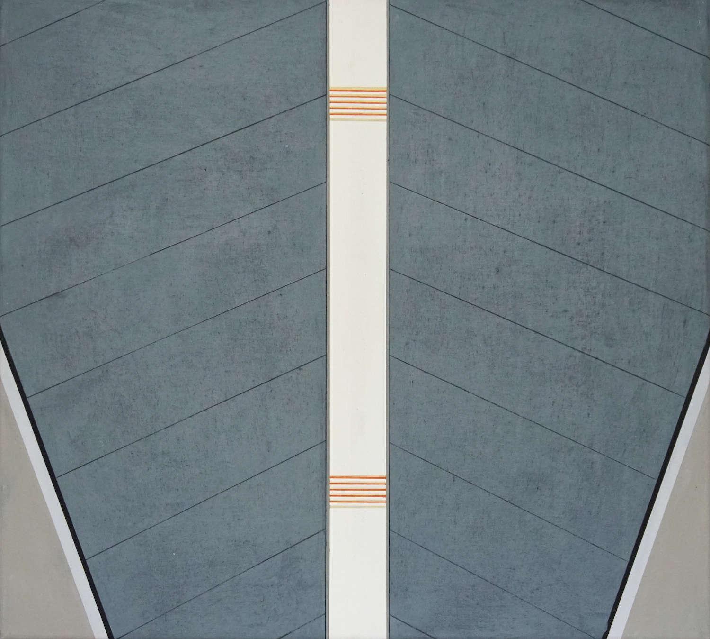 Tegel 3, 2020, 45 x 50 cm, Öl/Lw, Oil on Canvas