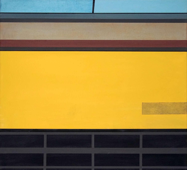Tegel 6, 2020, 45 x 50 cm, Öl/Lw, Oil on Canvas