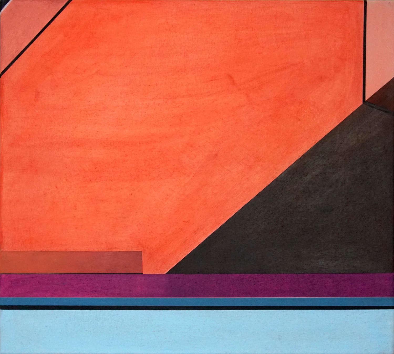 Tegel 7, 2020, 45 x 50 cm, Öl/Lw, Oil on Canvas
